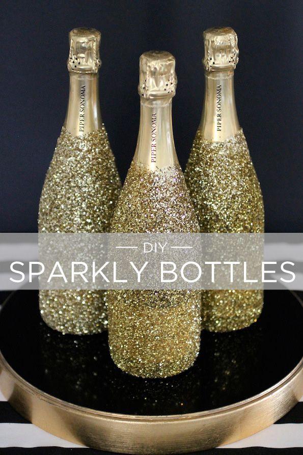 sparkly bottles